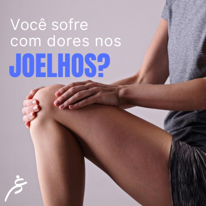Você sofre com dores nos joelhos?