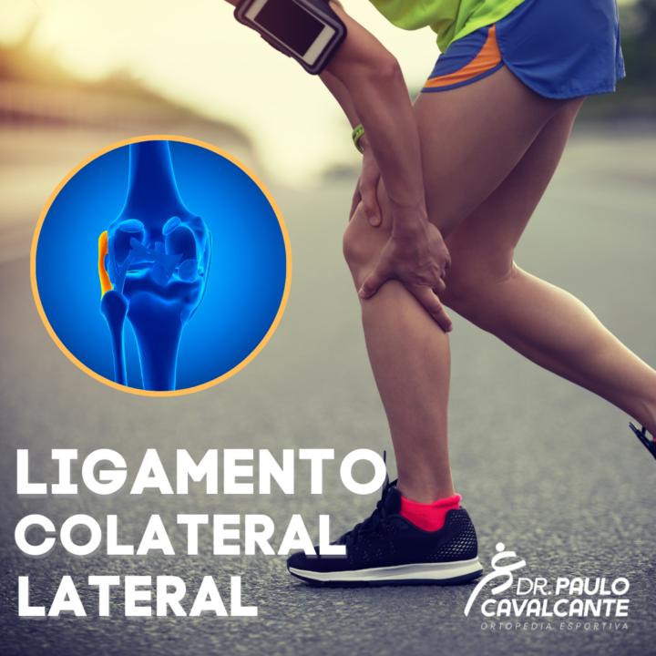 Lesão do Ligamento Colateral Lateral.