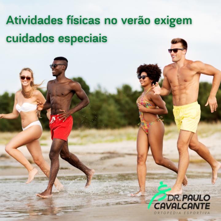 Atividades físicas no verão exigem cuidados especiais.