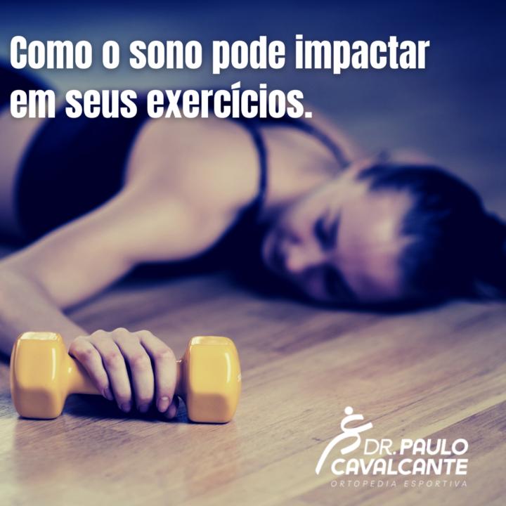 Como o sono pode impactar em seus exercícios.